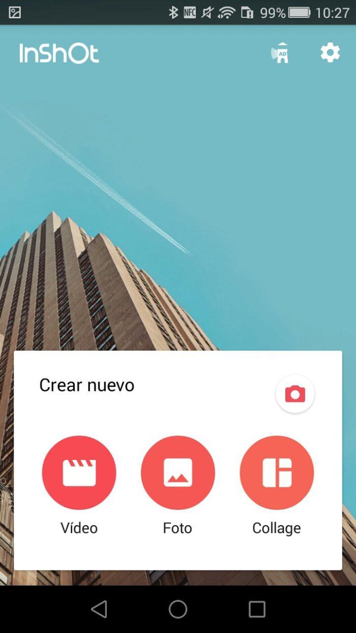 aplicativo inshot