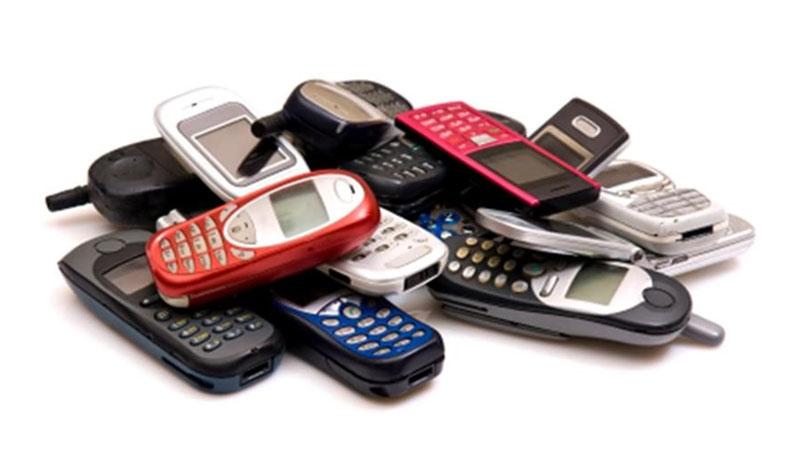 Primeiros modelos de celulares