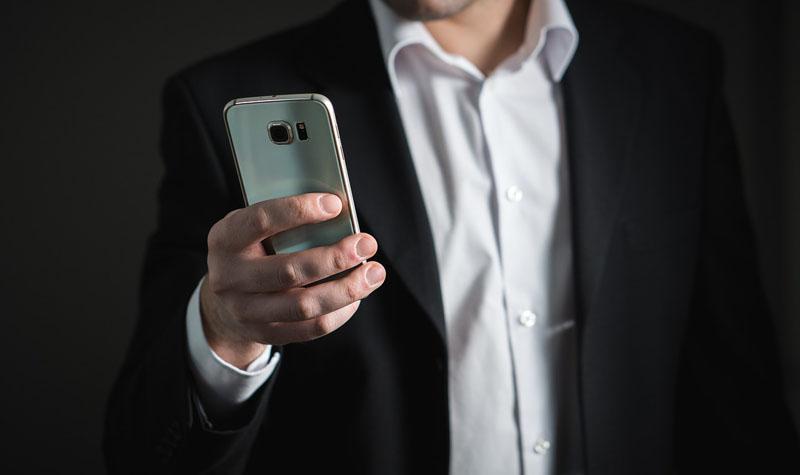 Smartphone para uso corporativo