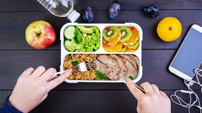 App para controlar horário de comer